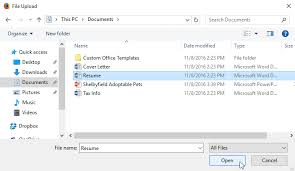 Resume Dropbox Dropbox Uploading And Managing Files Full Page