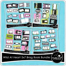 5x7 brag book at heart 5x7 brag book bundle 9 99 as you wish designs