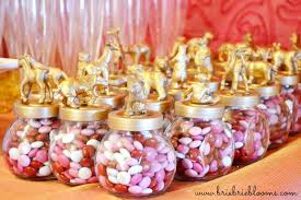 jar party favors diy gold animal jar party favors brie brie blooms