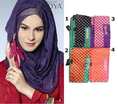 Grosir Gamis Zoya Murah zoya kerudung polka jual jilbab cantik dan murah jual jilbab