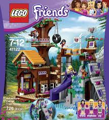 amazon black friday lego sales amazon com lego friends adventure camp tree house 41122 toys u0026 games