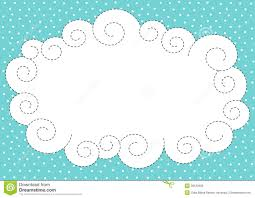 Borders For Invitation Cards Free Cloud And Snow Border Frame Royalty Free Stock Images Image