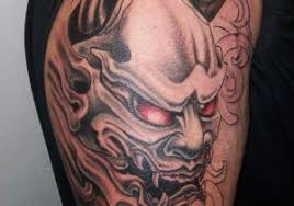 hannya mask samurai tattoo japanese devil mask tattoo 1000 ideas about hannya mask tattoo on