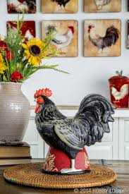 peachy hobby lobby rooster kitchen decor super spiritual meaning