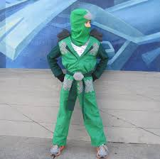 Lego Ninjago Costumes Halloween Lego Ninjago Green Ninja Inspired Costume Boys 235 00