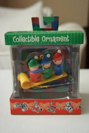 s odds and ends fisher price friday 2009 ornaments