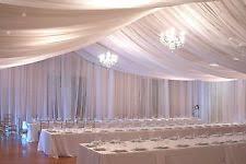 wedding drapes chiffon curtains drapes and valances ebay