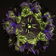 houseware decorations halloween wreath deco mesh wreaths item