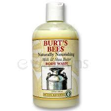 Burt S Bees Baby Wash by Burt U0027s Bees Milk And Shea Butter Body Wash 12 Oz Evitamins Com