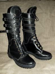 leather moto boots leather ankle boots post apocalyptic period look moto shoes