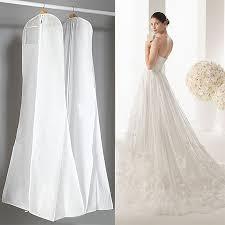 Wedding Dress Storage Black White Wedding Dress Cover Bridal Garment Long Clothes