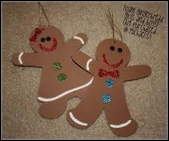 gingerbread men ornaments christmas crafts pinterest