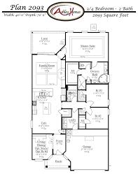 plantation floor plans floor plan 2093 arbor mill at oakleaf plantation orange park