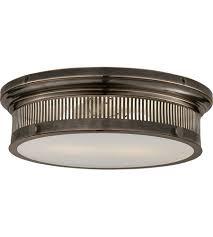 Flush Mounted Ceiling Lights by Visual Comfort Chc4392bz Wg E F Chapman Alderly 2 Light 16 Inch