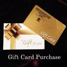 hotel gift card hotel gift certificates wedgewood hotel and spa