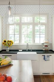 kitchen wallpaper ideas maine house with coastal interiors home bunch