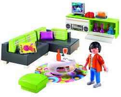 modern livingroom sets amazon com playmobil modern living room set toys u0026 games