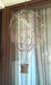 air balloon made out of wire made by me