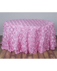 pink satin ribbon great deals on sale pink satin ribbon rosette tablecloth