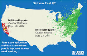 Map Of East Coast Of Usa by Earthquake Zones Nearly Half Of Americans Live In One Cnncom