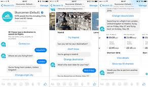 sky scanner skyscanner launches facebook messenger flight search bot