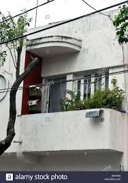 art deco balcony cheerful balcony of art deco house in condesa district mexico city
