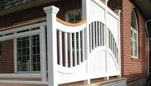 deck railing ideas be equipped vinyl railings be equipped simple