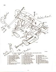 brakes diagram lever u0026 cables parking brake for 1985 dodge