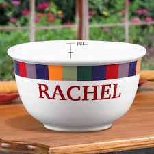 personalized bowl 1 qt personalized bowls