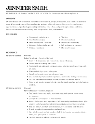 Student Part Time Job Resume by Chemistry Student Resume Write A Conclusion