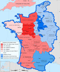 Brittany France Map Eleanor Of Aquitaine The First Feminist Law Heretic