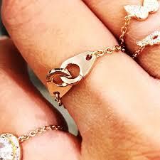 chain rings jewellery images Chain rings myriam calhoun jpg