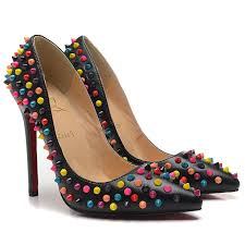 Are Christian Louboutins Comfortable Fresh And Comfortable Christian Louboutin Pigalle Multi Spikes