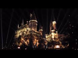 nighttime lights at hogwarts the nighttime lights at hogwarts castle universal studios