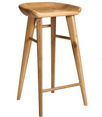 timber bar stools taburet wooden bar stool natural oak lifeinteriors home