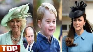 kate middleton and baby prince george escape camilla parker bowles