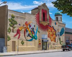 international artistic duo to paint mural in downtown gainesville interesni kazki does not name the mural they painted in baltimore md in april