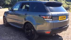land rover range rover sport 2016 land rover range rover sport sdv6 hse dynamic grey 2016 youtube