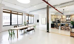 Indoor Outdoor Patio Former Greenpoint Night Club Turned Spectacular Live Work Loft