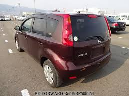 nissan note 2009 interior used 2009 nissan note 15 brownie interior dba e11 for sale bf509254
