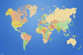 the map of the earth planets earth maps countries world map wallpapers throughout of