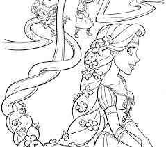 rapunzel coloring coloring pages adresebitkisel