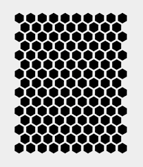 honeycomb beehive hexagon stencil bee stencils template paint