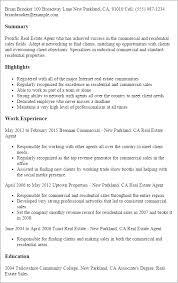 resume example real estate professional resume sample real estate