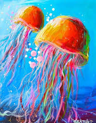 best 25 jellyfish painting ideas on pinterest jellyfish art