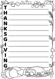 thanksgiving acrostic poem template free printable papercraft