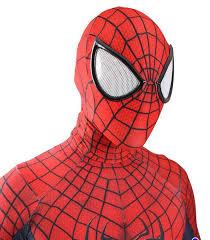 halloween marvel lycra the amazing spiderman costume cosplay