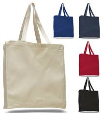 heavy canvas wholesale tote bags with gusset