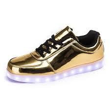 amazon com annabelz led shoes high top men women light up shoes