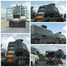 this means war the formidable armored vehicles kenya elite police